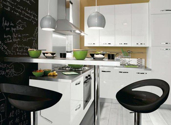Consejos para elegir la mesa de la cocina decoraci n del hogar - Barra americana para cocina ...