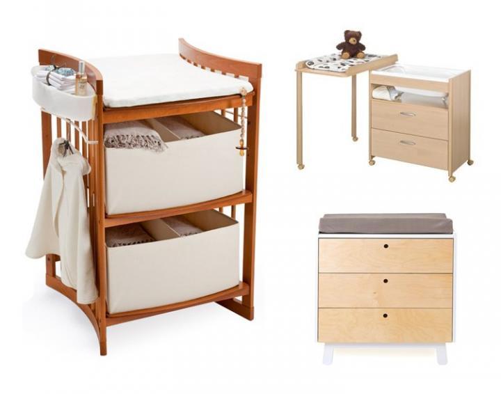 Decoraci n de habitaciones de beb s ideas para decorar la - Mesa cambiador para bebe ...
