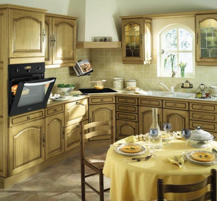 Cocina rústica Sarlat de Conforama