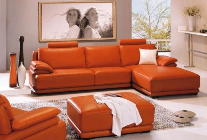 Trucos para utilizar en decoraci n el rojo el naranja y for Decoracion hogar naranja