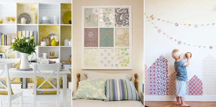 Renovar una decoraci n con poco dinero decoraci n del hogar - Maison decor papeles pintados ...