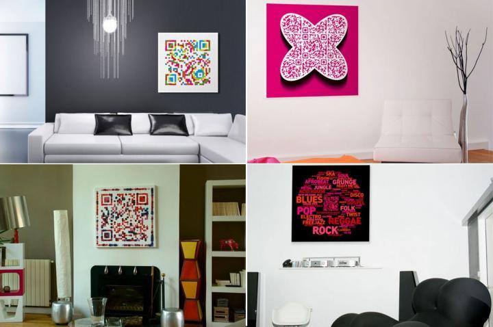 Cuadros qrious cuadros con mensaje decoraci n del hogar for Cuadros decoracion hogar