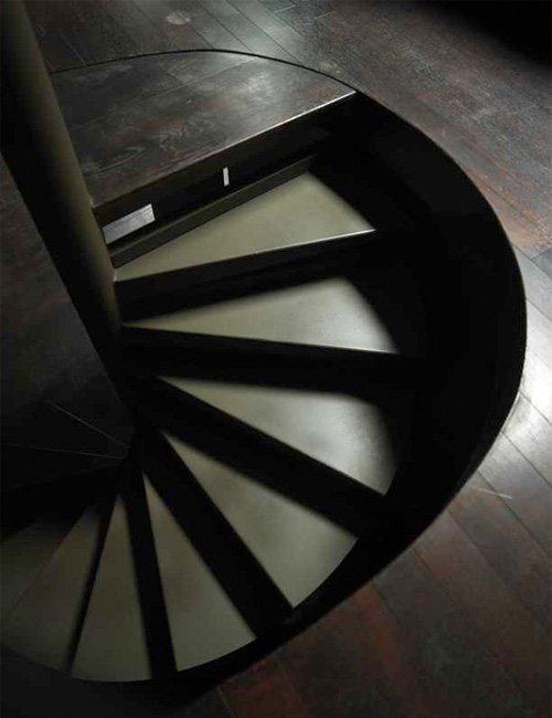 Decoración de escaleras. decoración del hogar.