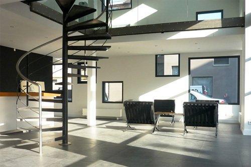 Decoraci n de escaleras decoraci n del hogar - Escaleras de caracol minimalistas ...