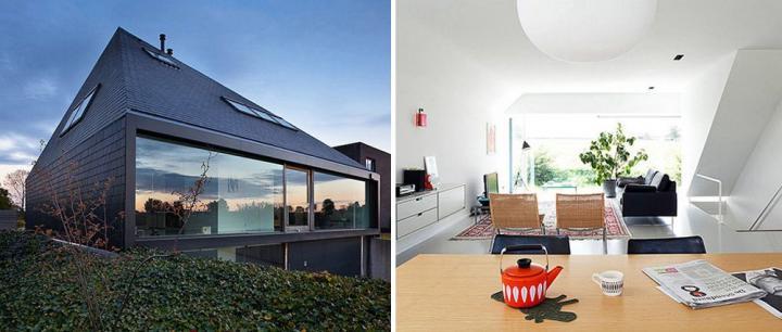 Decoraci n minimalista basada en el blanco decoraci n del for Casa minimalista interior blanco
