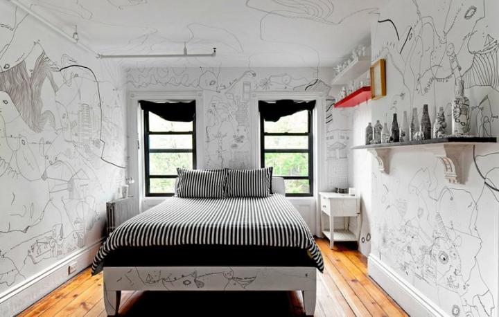 Interior animado por shantell martin decoraci n del hogar for Decoracion inglesa clasica
