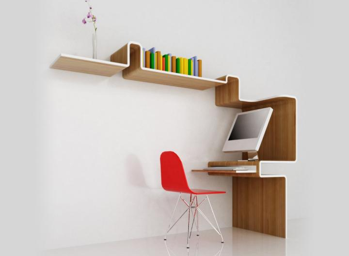 Despacho K Workstation de MisoSoupDesign