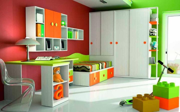 Dormitorios infantiles, ideas llenas de color