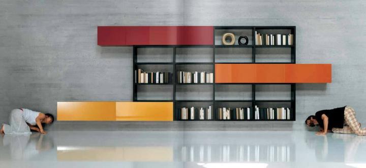 Estanterías y muebles para la decoración del hogar. modelos de ...