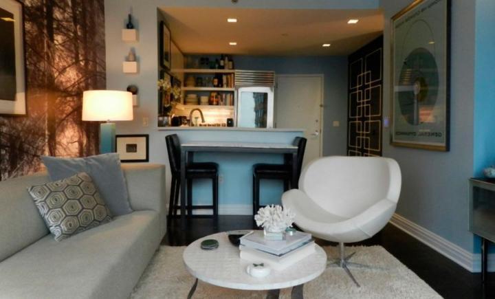 C mo decorar un sal n peque o decoraci n del hogar - Como decorar salones pequenos ...