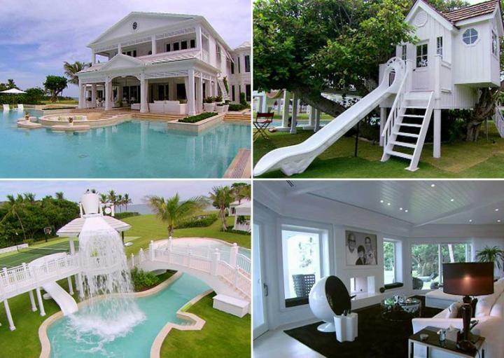 Fotos de la mansión de Céline Dion en Jupiter Island