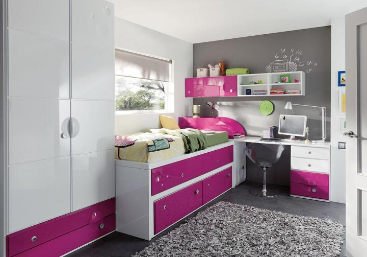 Habitaciones juveniles de la firma juraco decoraci n del for Cuartos para ninas y adolescentes