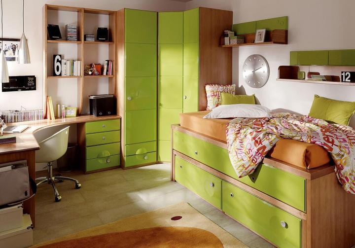 Dise o interior y decoraci n habitaciones juveniles de - Habitaciones juveniles diseno ...