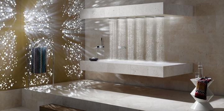 Horizontal Shower de Dornbracht