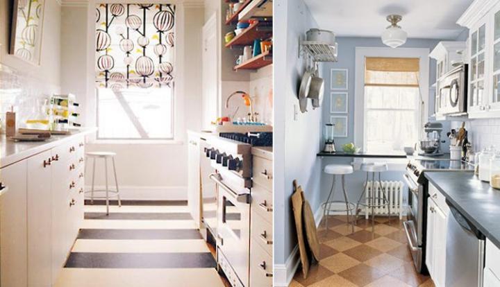 Ideas para la de decoración para cocinas pequeñas