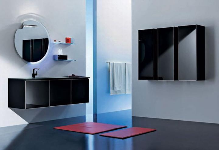 Ideas Para Decorar Un Baño Blanco:Ideas decorativas para un cuarto de baño en blanco y negro
