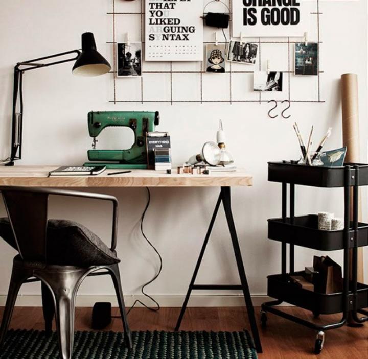Ideas para crear un peque o estudio en nuestros hogares - Decoracion de estudios pequenos ...