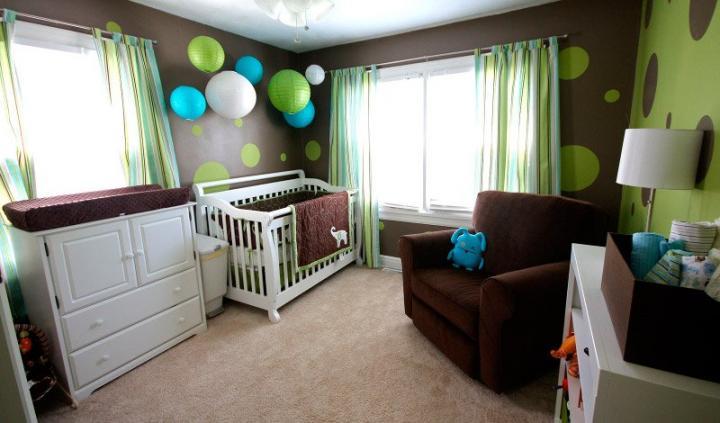 Decoraci n de habitaciones de beb s ideas para decorar la - Ideas para decorar el cuarto del bebe ...