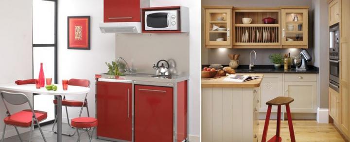 Imágenes de decoración para cocinas pequeñas