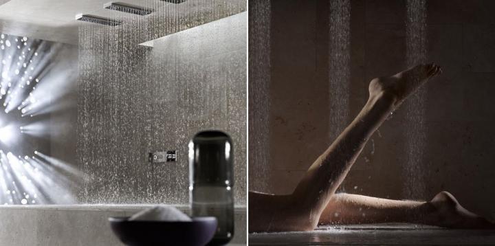 Imágenes de la Horizontal Shower de Dornbracht