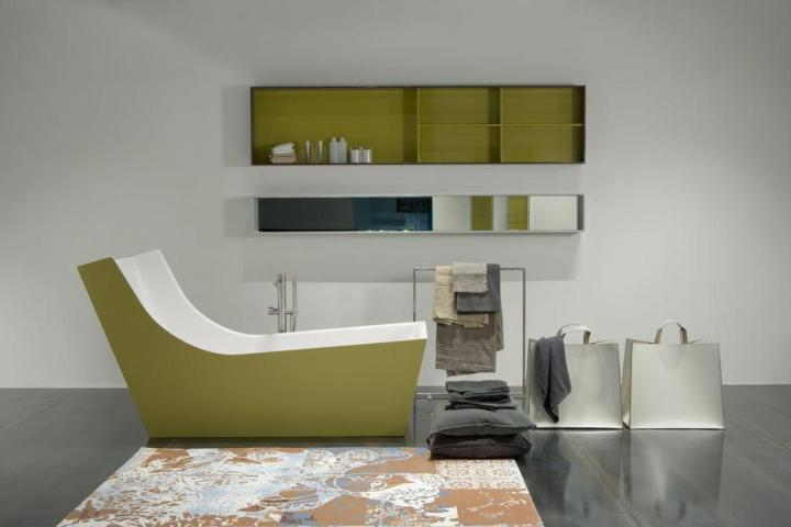 Decoracion Baño Verde: de baño: decoración en verde Cuarto de baño de Antonio Lupi