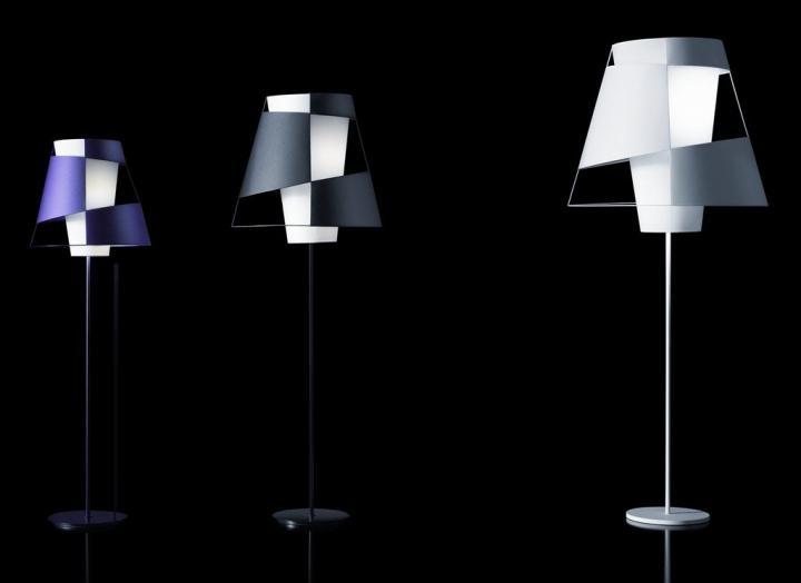 Lámparas de pie Crinolina