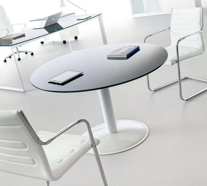 Mesa de cristal tintado Studio