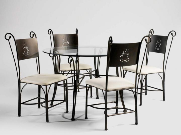 10 mesas redondas de cristal para tu hogar - Mesas cristal redondas ...
