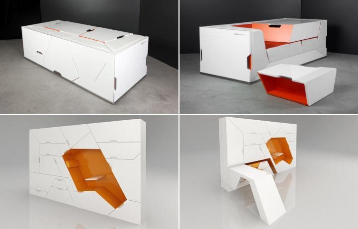muebles boxetti de líneas minimalistas cada uno de sus muebles