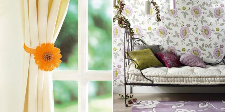 A ade motivos florales a la decoraci n de tu hogar for Decoracion el universo del hogar