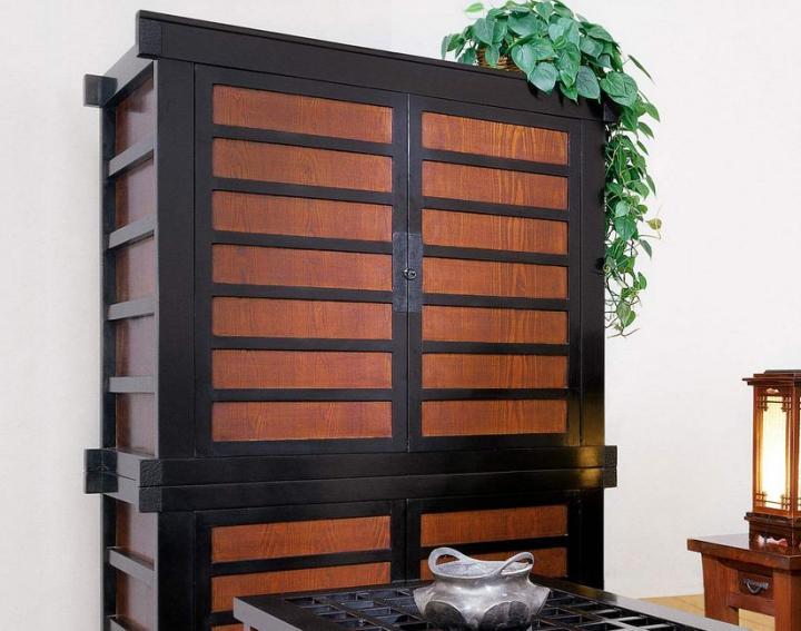 Muebles de televisión de estilo oriental Decoración del hoga