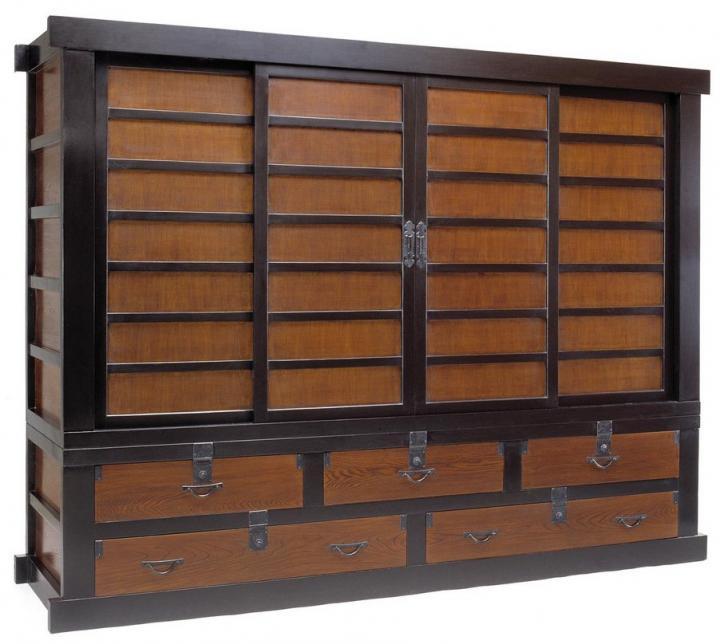 Muebles de televisión de estilo oriental Decoración del hogar