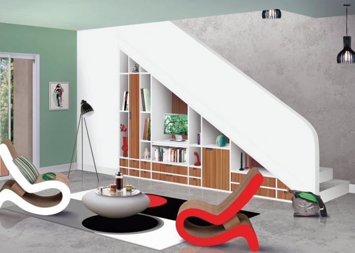 Consejos para aprovechar el espacio en casas peque as for Muebles de salon para espacios pequenos