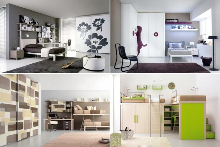 Cat logo 2012 de habitaciones juveniles tumidei for Habitaciones juveniles para poco espacio