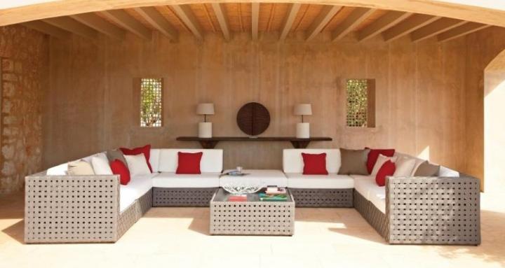 Decoraci n de jardines ideas para decorar tu jard n o for Muebles de exterior para terrazas
