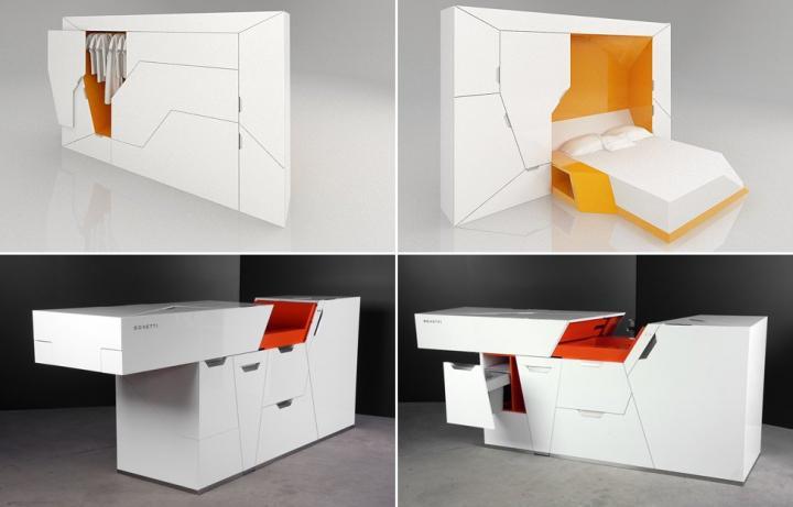 Muebles Boxetti. Colección de muebles funcionales y minimalistas