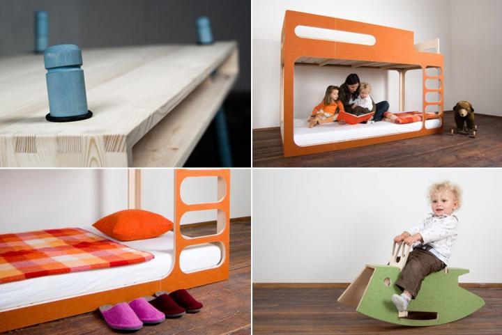Muebles creativos infantiles Perludi