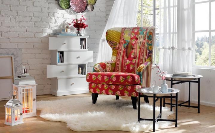 Muebles de estilo patchwork entran en nuestros hogares for Estilo hogar muebles
