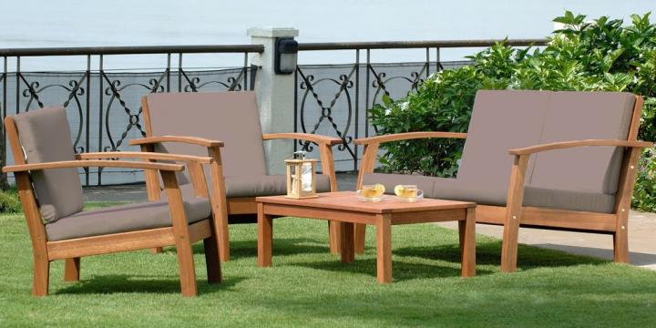 Muebles de jardín, consejos para elegir el material más idóneo