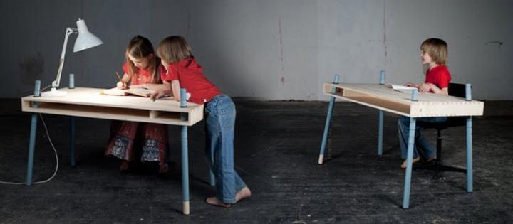 Muebles infantiles Perludi. Escritorio Caspar