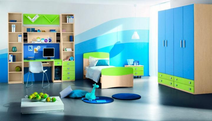 Muebles para una habitación infantil