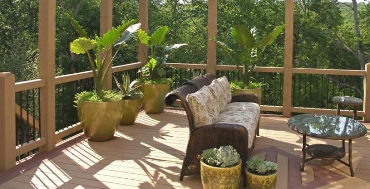 Muebles para una terraza de verano
