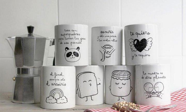 Originales tazas de mr wonderful decoraci n del hogar - Accesorios hogar originales ...