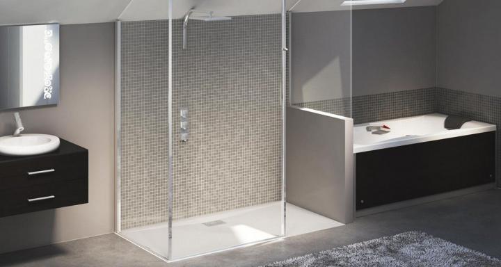 Regadera De Baño Cuadrada:Platos de duchas para baños