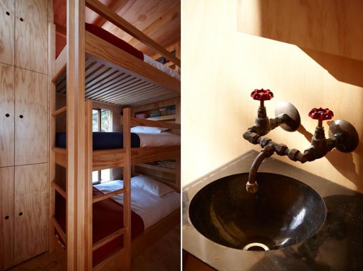 Proyecto de una cabaña de tan solo 40 m2