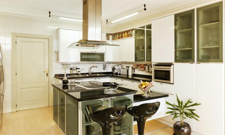 Tipos de cocinas. Cocina angular