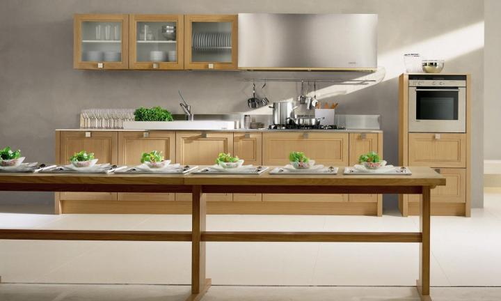 Tipos de cocinas. Cocina lineal