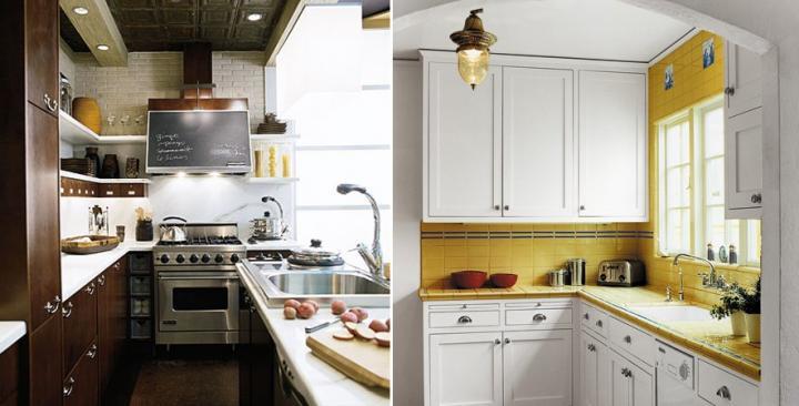 Trucos de decoración para cocinas pequeñas