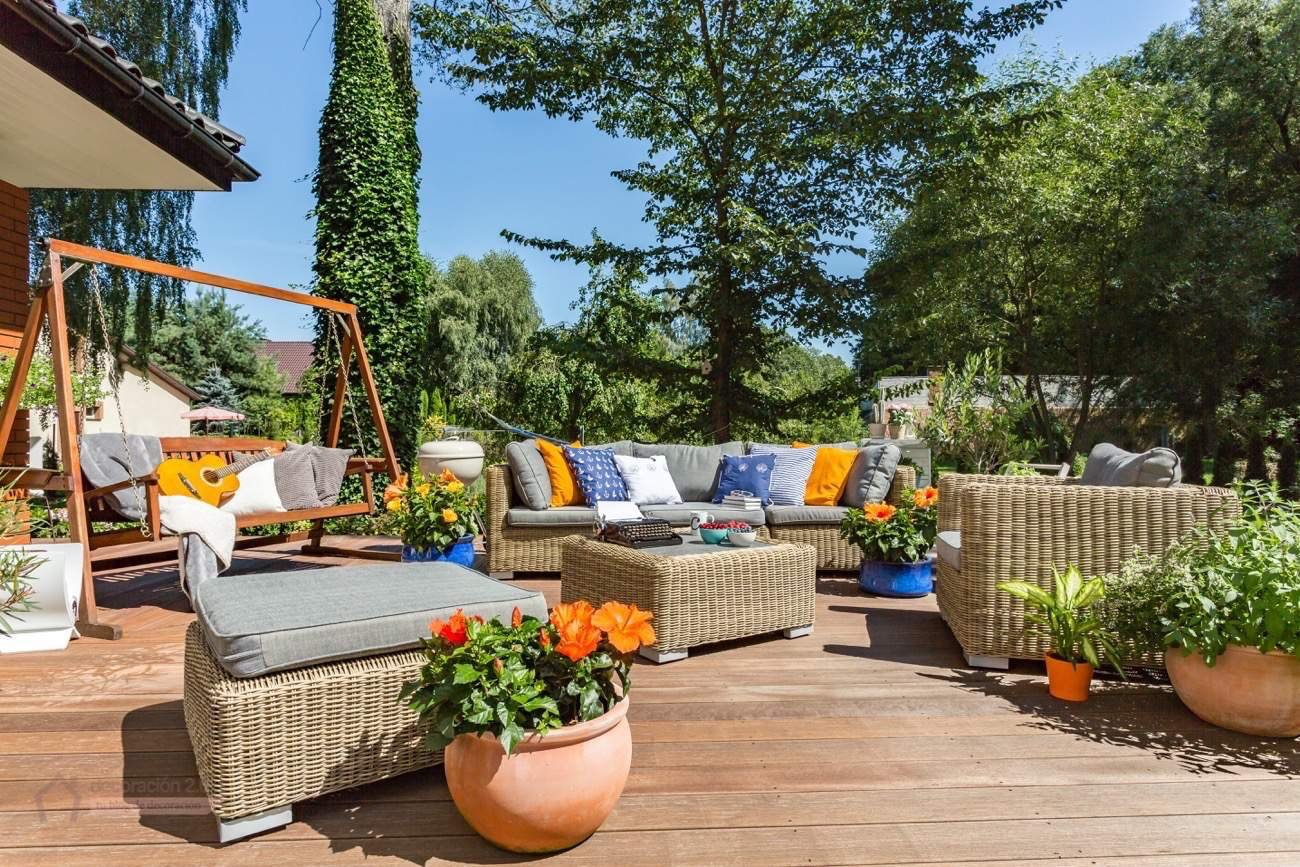 10 Ideas Para Decorar El Jardin Decoraci N Del Hogar  ~ Decoraciã³n De Patios Exteriores