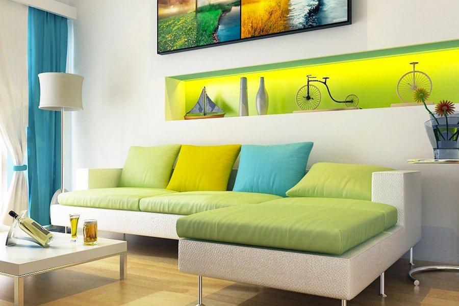 5 ideas de colores para animar nuestra decoraci n - Ideas para el hogar decoracion ...